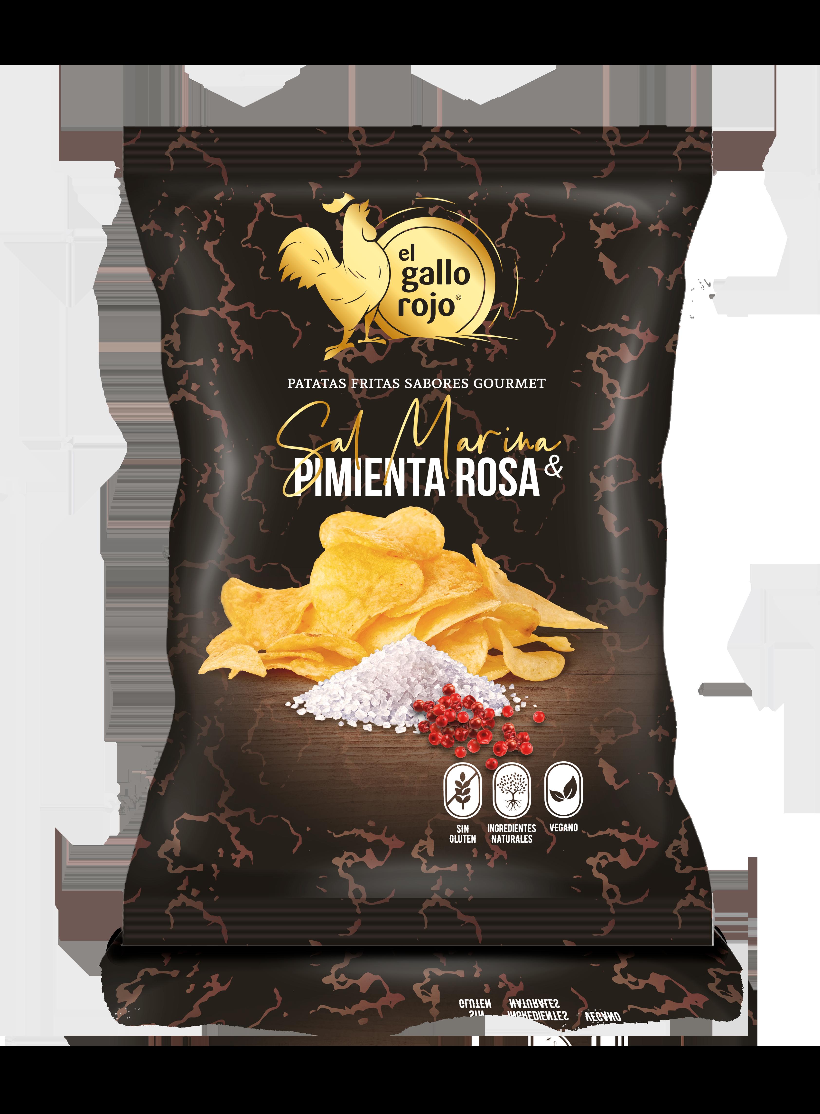 Patatas Sal Marina y Pimienta Rosa